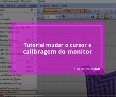 Tutorial mudar o cursor e calibragem do monitor