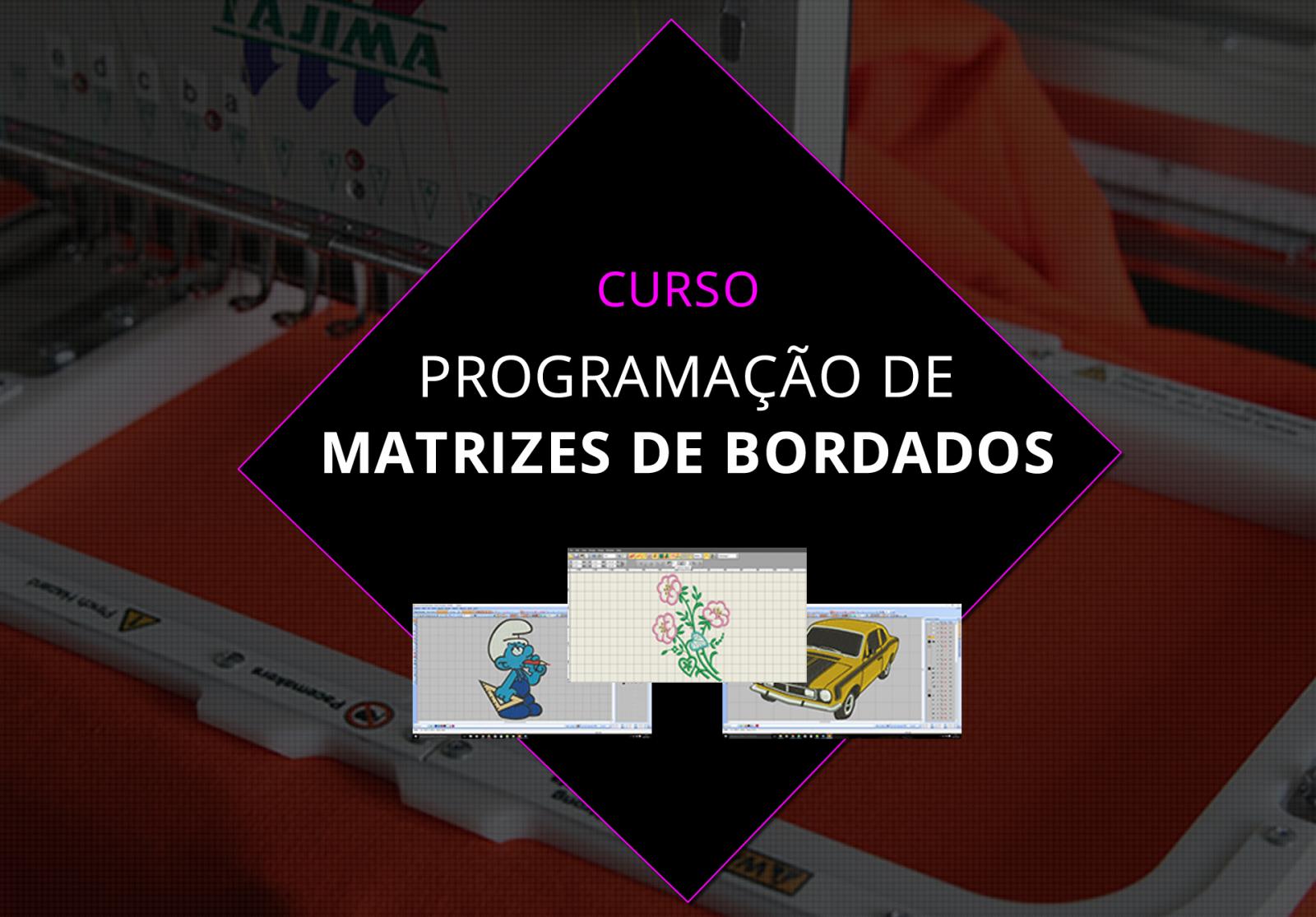 Curso Programação de Matrizes de Bordados - Aprenda Bordar c7644c6ec2c